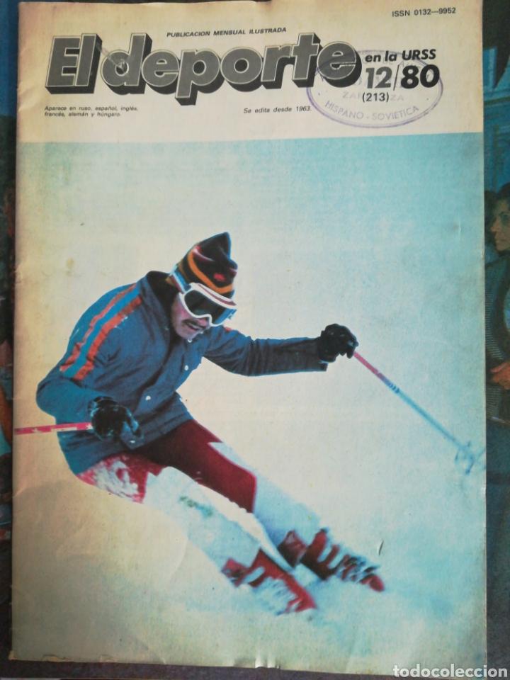 EL DEPORTE EN LA URSS 1980 (Coleccionismo Deportivo - Revistas y Periódicos - otros Deportes)