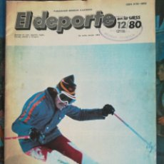 Coleccionismo deportivo: EL DEPORTE EN LA URSS 1980. Lote 150763120