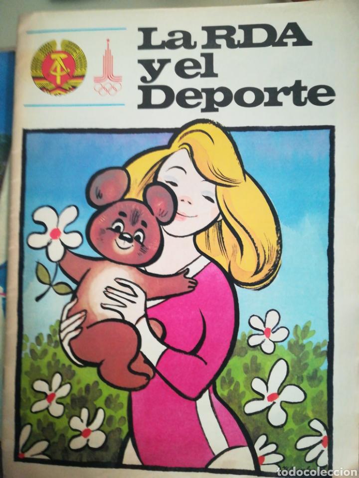 LA RDA Y EL DEPORTE (Coleccionismo Deportivo - Revistas y Periódicos - otros Deportes)
