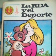 Coleccionismo deportivo: LA RDA Y EL DEPORTE. Lote 150763234