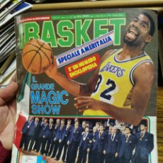 Coleccionismo deportivo: REVISTA SUPER BASKET (ITALIANA)- PORTADA MAGIC JOHNSON, N°26, 1985.. Lote 150922234
