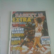 Coleccionismo deportivo: BASKET 16 Nº 28 EXTRA NCCA FINAL FOUR DANNY MANNING. Lote 151160538
