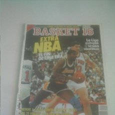 Coleccionismo deportivo: BASKET 16 Nº 57 EXTRA NBA ,JORDAN, BIRD, WILKINS, THOMAS . Lote 151160750