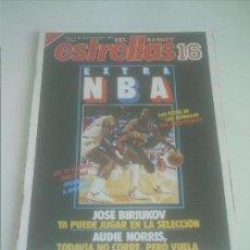 Coleccionismo deportivo: ESTRELLAS DEL BASKET 16 Nº 7 EXTRA NBA LOS 23 EQUIPOS. Lote 151161306