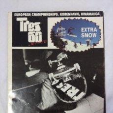 Coleccionismo deportivo: REVISTA TRES 60 SKATE/EXTRA SNOW.. Lote 151408254