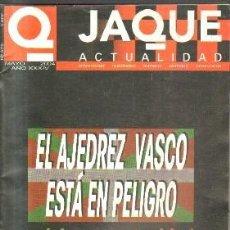 Collezionismo sportivo: JACQUE ACTUALIDAD.EL AJEDREZ VASCO ESTA EN PELIGRO.MAYO 2004.A-AJD-507. Lote 151420474