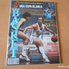 Coleccionismo deportivo: REVISTA NUEVO BASQUET, Nº 127, DICIEMBRE 1984, BREOGAN OTRO MILAGRO GALLEGO. Lote 151482678