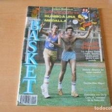 Coleccionismo deportivo: REVISTA NUEVO BASQUET, Nº 122, JULIO 1984, JUEGOS OLIMPICOS LOS ANGELES 84. Lote 151488734