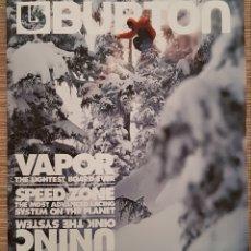 Coleccionismo deportivo: CATALOGO 2006 BURTON TODO EN SNOW-TABLAS-EQUIPAMIENTO-ROPA ETC... Lote 151521741
