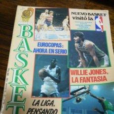 Coleccionismo deportivo: REVISTA NUEVO BASKET- LA LIGA PENSANDO EN LA COPA-EUROCOPA, POSTER JOSE LUIS LLORENTE - N°139, 1985.. Lote 151874001