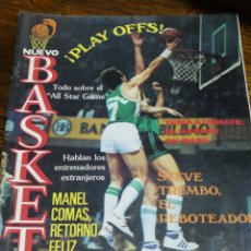 Coleccionismo deportivo: REVISTA NUEVO BASKET- PLAYOFFS, ALL STAR GAME, STEVE TRUMBO REBOTEADOR - N°118, 1984.. Lote 151886154