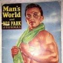 Coleccionismo deportivo: PORTADA DE REVISTA MAN'S WORLD AND REG PARK JOURNAL - NOVIEMBRE 1959. Lote 152061722