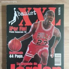 Coleccionismo deportivo: REVISTA ''XXL BASKET'' (1999) - ESPECIAL MICHAEL JORDAN - RETIRADA DE 1999 - NBA. Lote 152298458