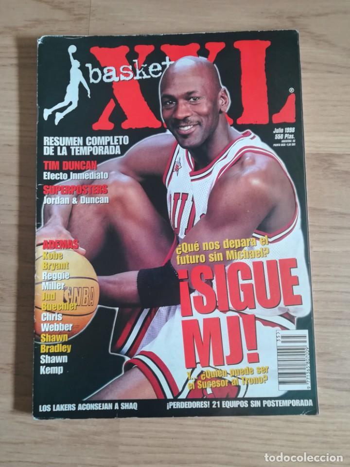XXL BASKET JULIO 1998XXL BASKET JULIO 1998 (Coleccionismo Deportivo - Revistas y Periódicos - otros Deportes)