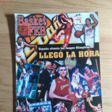 Coleccionismo deportivo: REVISTA BALONCESTO BASKET FEB 19 - SEPTIEMBRE - 2000. Lote 152299670