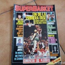Coleccionismo deportivo: REVISTA SUPERBASKET. N° 3. MAYO 1986. DRAZEN PETROVIC. ANDRÉS JIMÉNEZ.. Lote 152435434