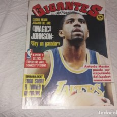Coleccionismo deportivo: REVISTA GIGANTES DEL BASKET. N° 82. 1987. MAGIC JOHNSON. MVP.. Lote 152480850