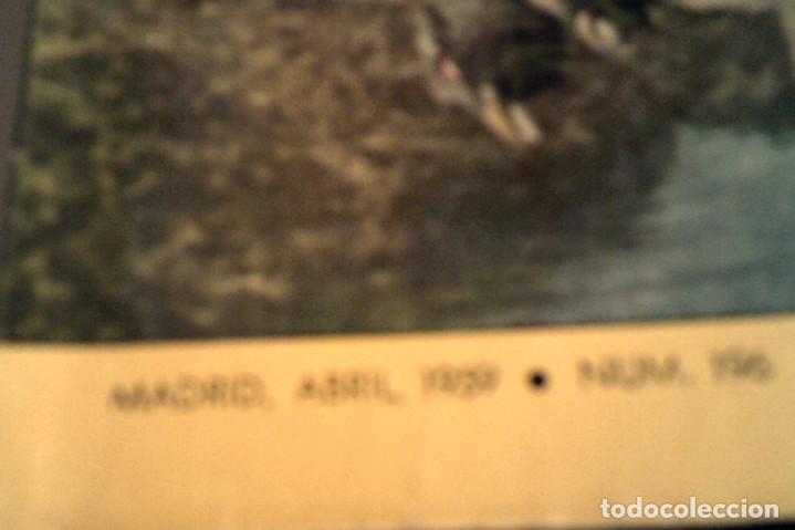 Coleccionismo deportivo: Seis revistas ''Caza y Pesca'' año 1959 - Foto 2 - 152489222