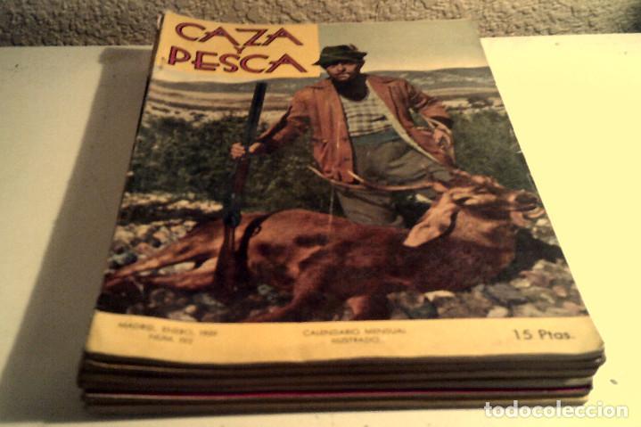 Coleccionismo deportivo: Seis revistas ''Caza y Pesca'' año 1959 - Foto 5 - 152489222