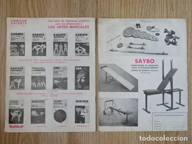 Coleccionismo deportivo: Lote 2 Revistas LAS PESAS nº 118 y 127 Fisico Culturismo Halterofilia Año 1973 1974 Mr Olimpia - Foto 4 - 152640222
