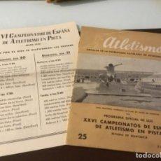 Coleccionismo deportivo: ANTIGUA REVISTA ATLETISMO 1946 . Lote 152658878