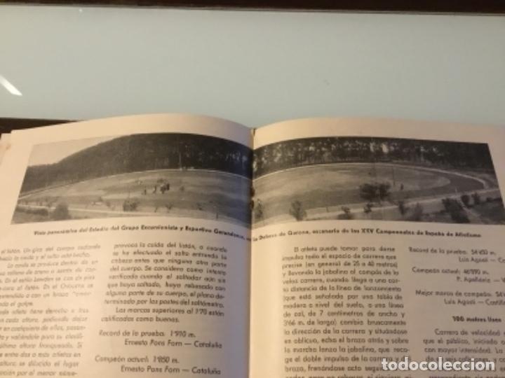 Coleccionismo deportivo: Antigua revista atletismo 1945 - Foto 3 - 152659090