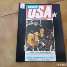 Coleccionismo deportivo: FASCÍCULO COLECCIONABLE. BASKET USA. N° 2. LOS ÁNGELES LAKERS. GIGANTES DEL BASKET. 1986.. Lote 152898858