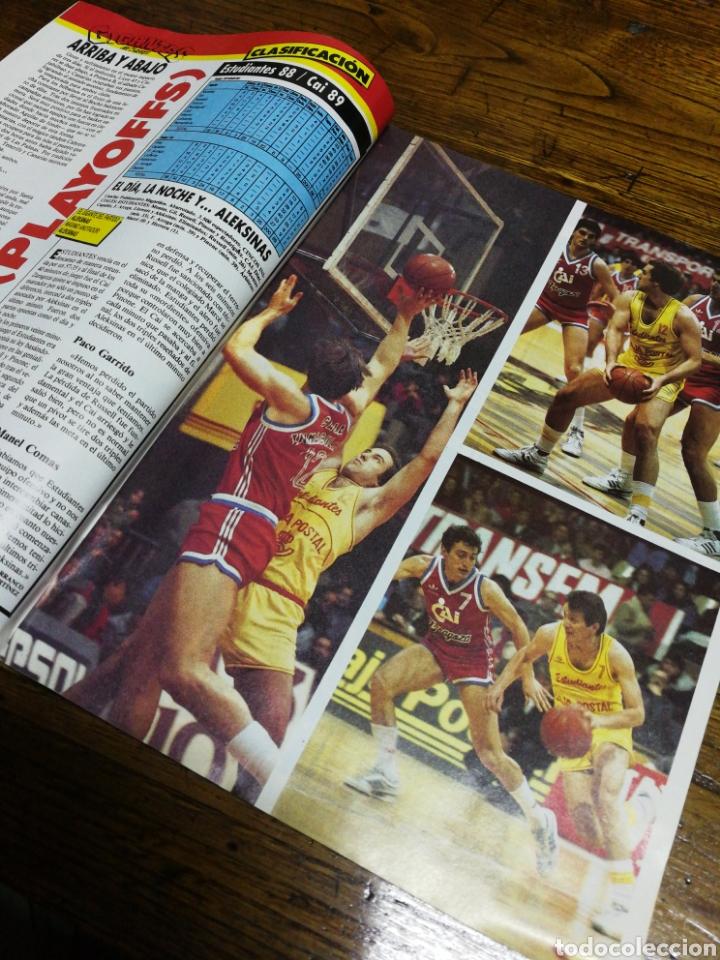 Coleccionismo deportivo: REVISTA GIGANTES DEL BASKET- PORTADA LIGA UNIVERSITARIA, LOUISVILLE-POSTER MAGIC JOHNSON- N°24,1986. - Foto 2 - 153047564