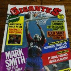 Coleccionismo deportivo: REVISTA GIGANTES DEL BASKET- PORTADA MARK SMITH+ POSTER SUPEREPI- N°14, 1986.. Lote 153055914