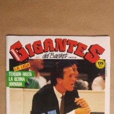 Coleccionismo deportivo: 8 REVISTAS GIGANTES BALONCESTO. AÑO 1987. VER FOTOS DE TODAS.. Lote 153952502