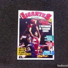 Coleccionismo deportivo: REVISTA DE BALONCESTO (GIGANTES) Nº 103. 1987. Lote 154243222