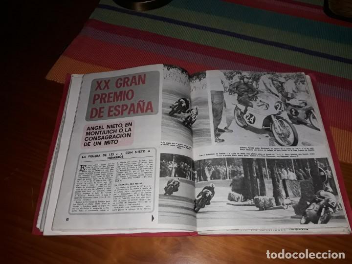 LOTE 6 REVISTAS MOTOCICLISMO (1969-70-71) (Coleccionismo Deportivo - Revistas y Periódicos - otros Deportes)