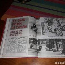 Coleccionismo deportivo: LOTE 6 REVISTAS MOTOCICLISMO (1969-70-71). Lote 155290658