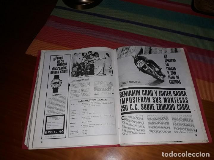 Coleccionismo deportivo: Lote 6 revistas Motociclismo (1969-70-71) - Foto 3 - 155290658
