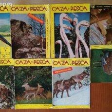 Coleccionismo deportivo: REVISTA CAZA Y PESCA (LOTE). Lote 88847228