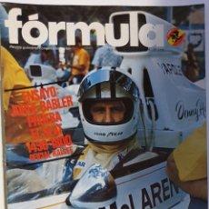 Coleccionismo deportivo: LOTE 3 REVISTAS MOTOR FORMULA. Lote 156653814