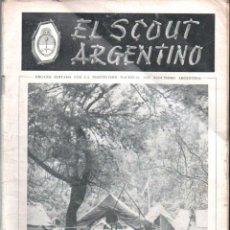 Coleccionismo deportivo: EL SCOUT ARGENTINO AÑO 1954 - BOY SCOUTS. Lote 157420502