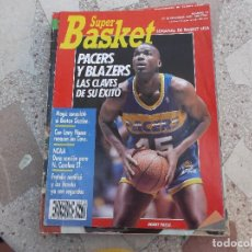 Colecionismo desportivo: SUPER BASKET Nº 12, POSTER JOE MONTANA, MAGIC CONQUISTO EL BOSTON GARDEN,PACERS Y BLAZERS. Lote 158509310