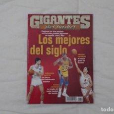 Coleccionismo deportivo: REVISTA GIGANTES DEL BASKET. Nº 792 LOS MEJORES DEL SIGLO XX (ENERO 2001). Lote 158700470