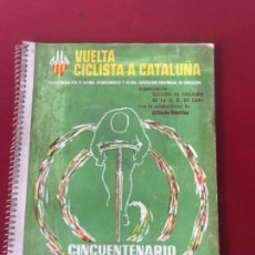 Coleccionismo deportivo: VUELTA CICLISTA A CATALUÑA CINCUENTENARIO 1911 1961 GRAN PREMIO WYNN'S. Lote 159032094