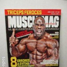 Coleccionismo deportivo: MUSCLEMAG - EDICIÓN ESPAÑOLA Nº 261. Lote 159615578