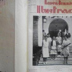 Coleccionismo deportivo: REVISTA ARGENTINA DE TENNIS ENCUADERNADA: LAWN TENNIS ILUSTRADO - 1929 A 1931 - PRIMEROS 24 NÚMEROS.. Lote 159917734
