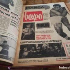 Coleccionismo deportivo: PERIODICOS DE BOXEO ENCUADERNADOS 1964 GRAN FORNATO . Lote 160497234
