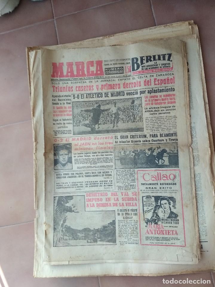 MARCA 1957 FUTBOL (Coleccionismo Deportivo - Revistas y Periódicos - otros Deportes)