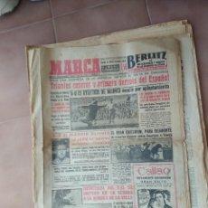 Coleccionismo deportivo: MARCA 1957 FUTBOL . Lote 160803586