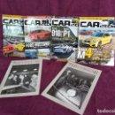 Coleccionismo deportivo: LOTE DE 6 REVISTAS DE COCHES, CAR AND TECNO Y HISTORIACAR. Lote 160858942