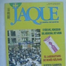 Coleccionismo deportivo: JAQUE , REVISTA ESPAÑOLA DE AJEDREZ. Nº 426, JUNIO 1996. Lote 161377238
