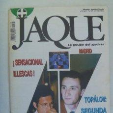 Coleccionismo deportivo: JAQUE , REVISTA ESPAÑOLA DE AJEDREZ. Nº 428, JULIO 1996. Lote 161389750