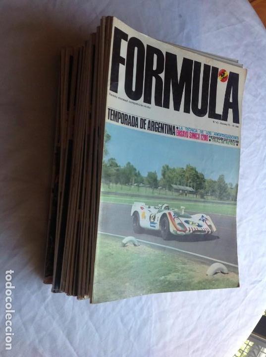 FORMULA. LOTE 26 NÚMEROS (Coleccionismo Deportivo - Revistas y Periódicos - otros Deportes)