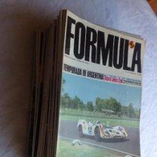 Coleccionismo deportivo: FORMULA. LOTE 26 NÚMEROS. Lote 161390878